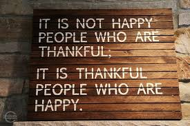 Happy Thankful People